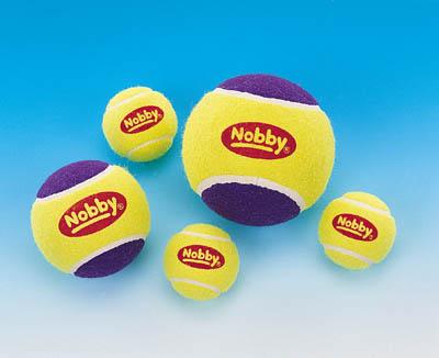 Zabawki z piłką tenisową dla psów